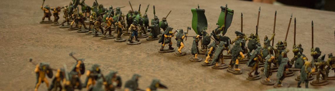 Being Thankful- A Fantasy Warriors Battle