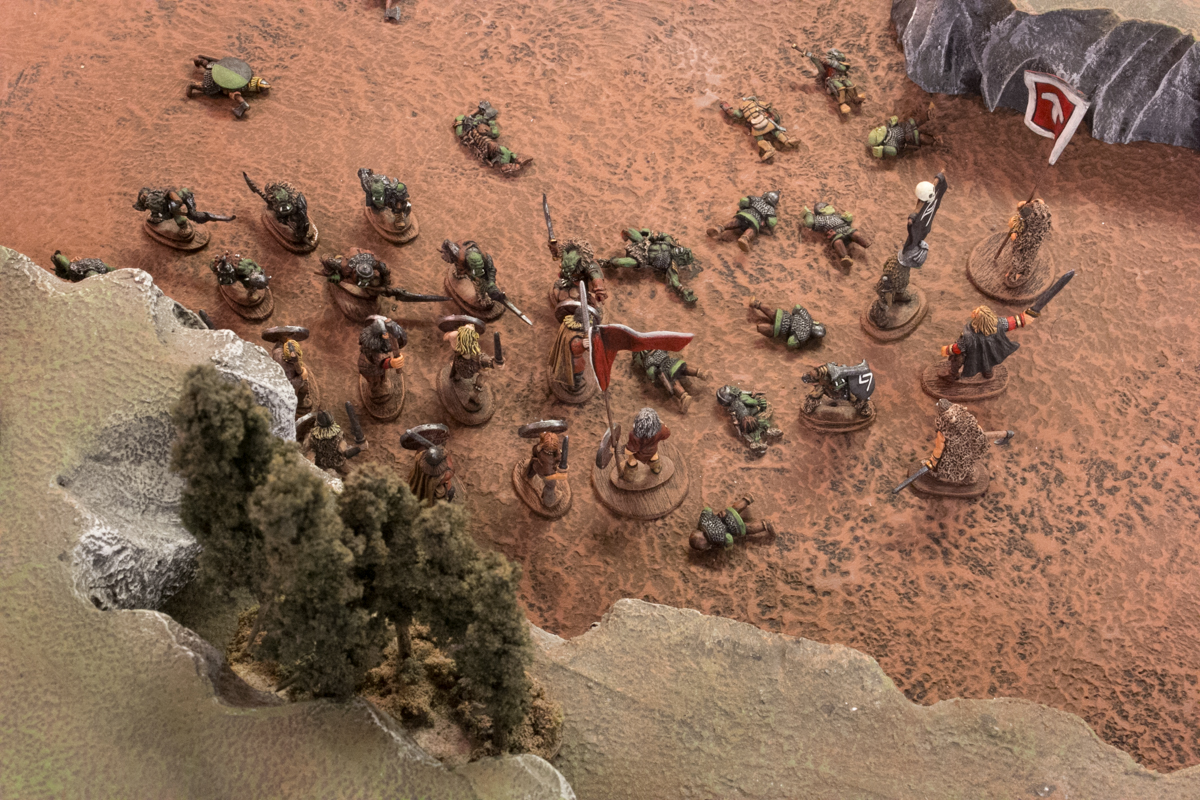 As all seemed lost for the Upplanders, the bonders leapt into the fray.