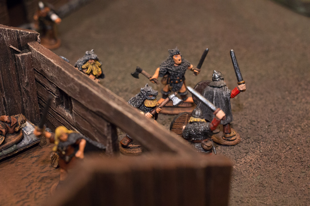 The men of Var began to charge out of their quarters.